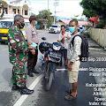 TNI-POLRI Tegakkan Disiplin Prokes di Wilayah Pangururan