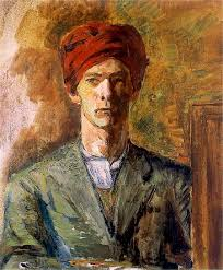 Zygmunt Waliszewski, Self Portrait, Portraits of Painters, Fine arts, Portraits of painters blog, Paintings of Zygmunt Waliszewski, Painter Zygmunt Waliszewski