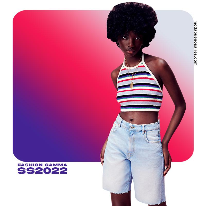 moda primavera verano 2022 ropa de colores 2022