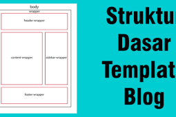 Cara Membuat Struktur Dasar Template Blog Blogger