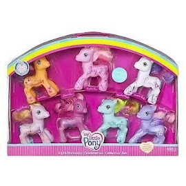 My Little Pony Pinkie Pie Pony Packs 25th Birthday Celebration Collector Set G3 Pony