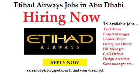 Etihad airways jobs in abu dhabi uae - Etihad airways office in abu dhabi ...