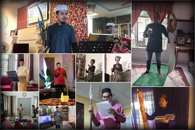 Rakyat Malaysia Kongsikan Pengalaman Khutbah Raya Di Rumah Bersama Pelbagai Jenis Tongkat Khatib
