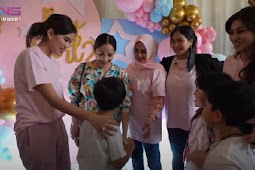 Nagita Slavina Gelar Pesta Kejutan Jenis Kelamin Bayi, Ungkap Doa Rafathar Terkabulkan