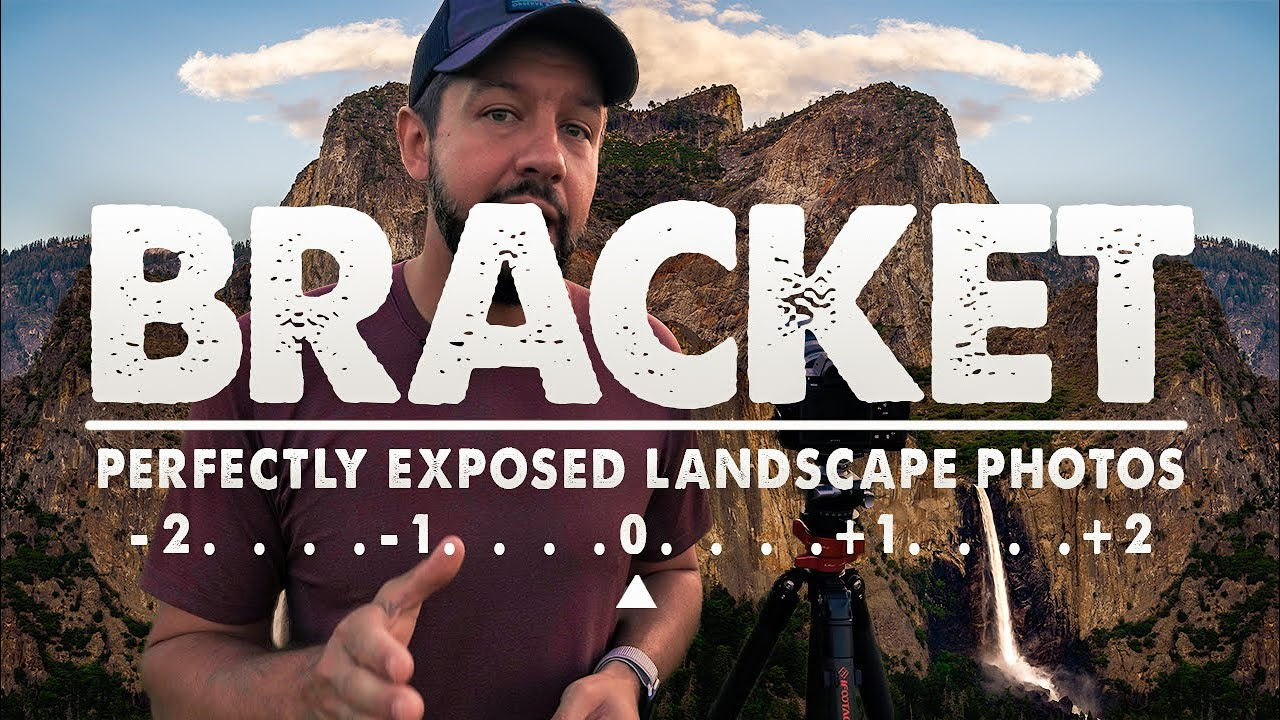 How To BRACKET For PERFECTLY EXPOSED Landscape Photos