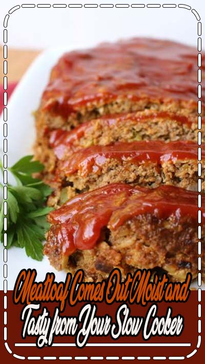When you make meatloaf in your slow cooker you are guaranteed to enjoy an incredibly moist and flavorful ground beef dish for your next weeknight dinner.