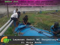 SEDOT WC PONDOK CANDRA Murah 085235455077