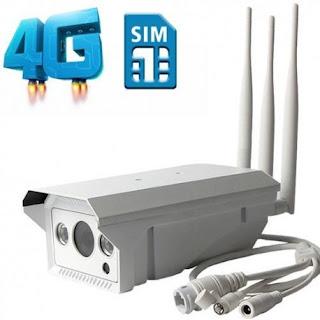 IP CAMERA ESTERNA CON SIM 3G 4G TELECAMERA