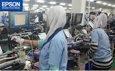 Lowongan Kerja PT Indonesia Epson Industry Jobs: Desain Otomasi Mekanik Staff, Bagian IQC Staff