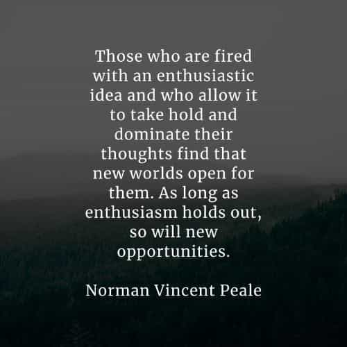 Famous quotes and sayings by Norman Vincent Peale