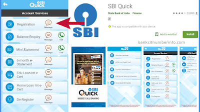 Click Register to Activate SBI mobile banking
