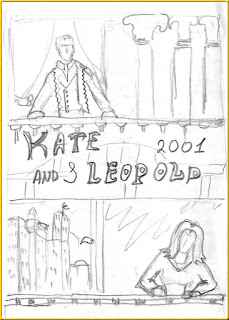 Kate & Leopold sketch poster