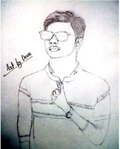 Sketch Of Boy || Photo to Sketch ( सुन्दर चित्रकारी )