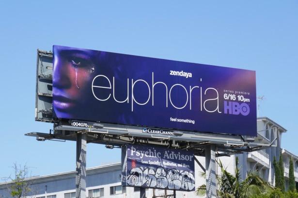 Euphoria series premiere billboard