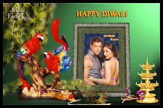 Diwali Festival Greeting Card Image