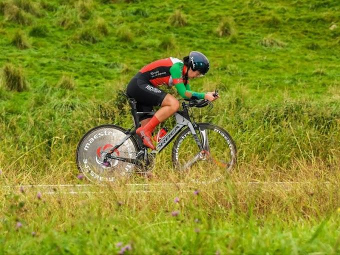 El Club Ciclista Meruelo consiguió dos oros y seis medallas en los Campeonatos de Cantabria CRI