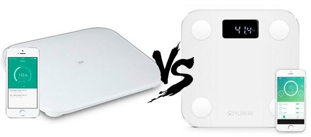 [Comparativa] Xiaomi Mi Smart Scale vs YUNMAI Mini 1501 Smart Scale ¿Cuál es Mejor?