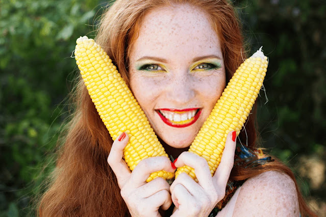 Lower back pain - corn