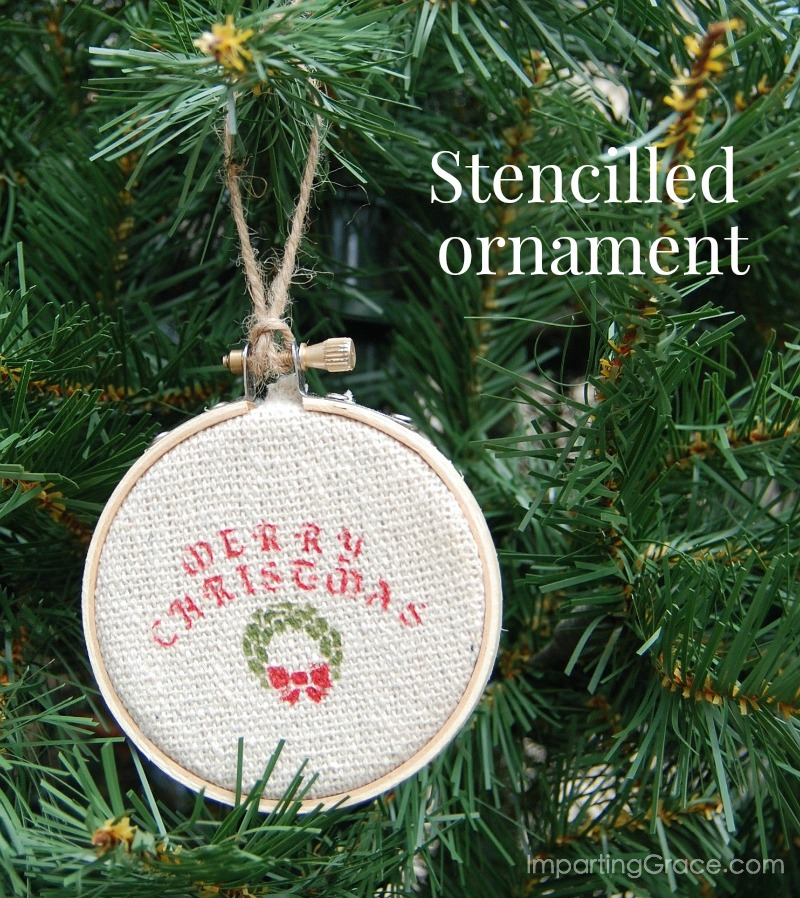 Imparting Grace Diy Fun Old Fashioned Christmas Ornament