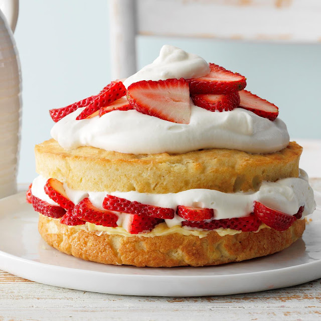 Strawberries for shortcake recipe