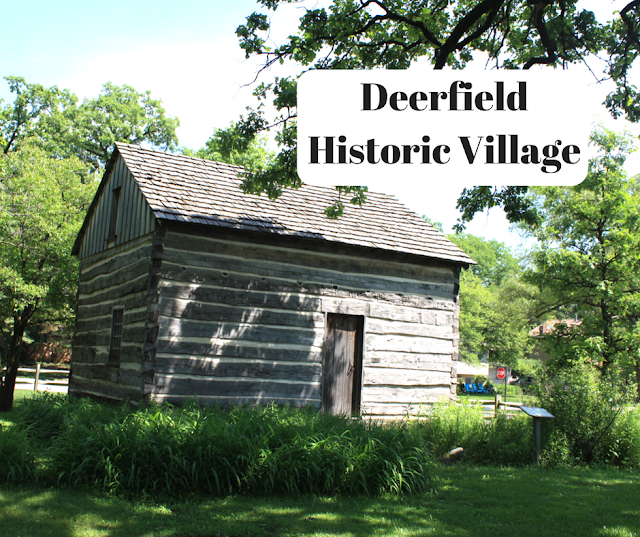 Deefield Historic Village is a collection of historic buildings and replicas in Deerfield, IL