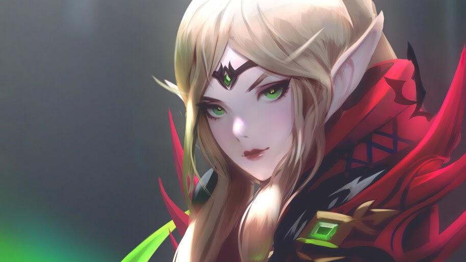 Valeera, World of Warcraft, 4K, #3.2718