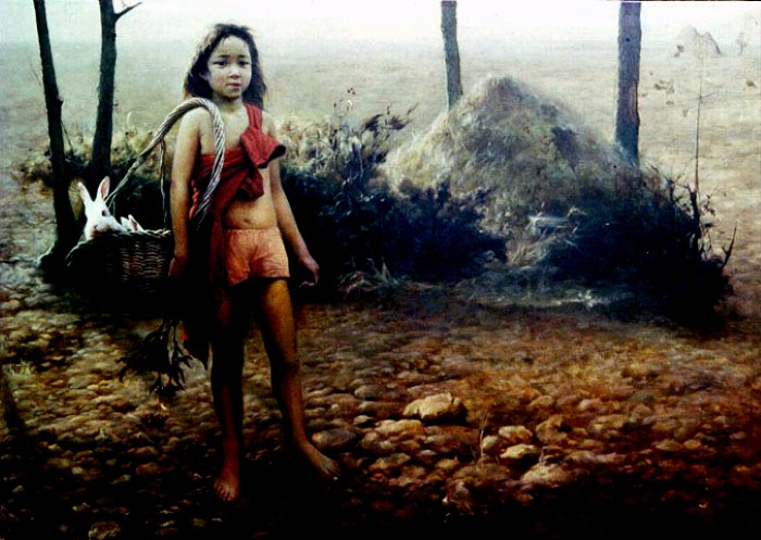 Yuqi Wang. Чувственные и сильные картины 3