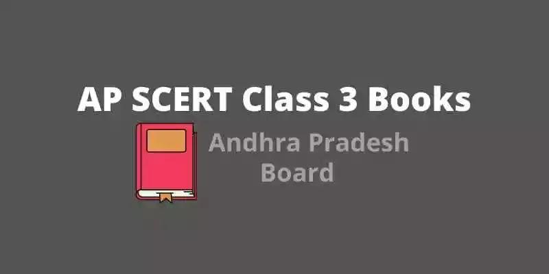 AP SCERT Class 3  Books   AP Board Class 3 books PDF Download