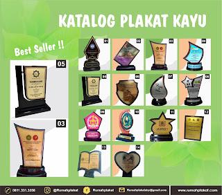 Harga Plakat Kayu Surabaya