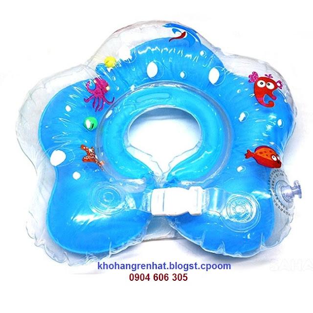 Phao tập bơi cho bé có đỡ cổ  gia re