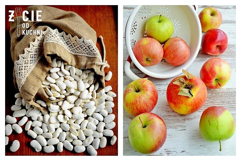 fasola piekny jas, jablka lackie, malopolska kuchnia, malopolskie produkty regionalne
