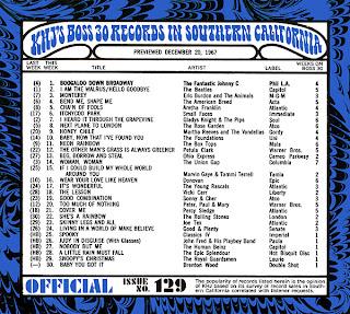 KHJ Boss 30 No. 129 - December 20, 1967