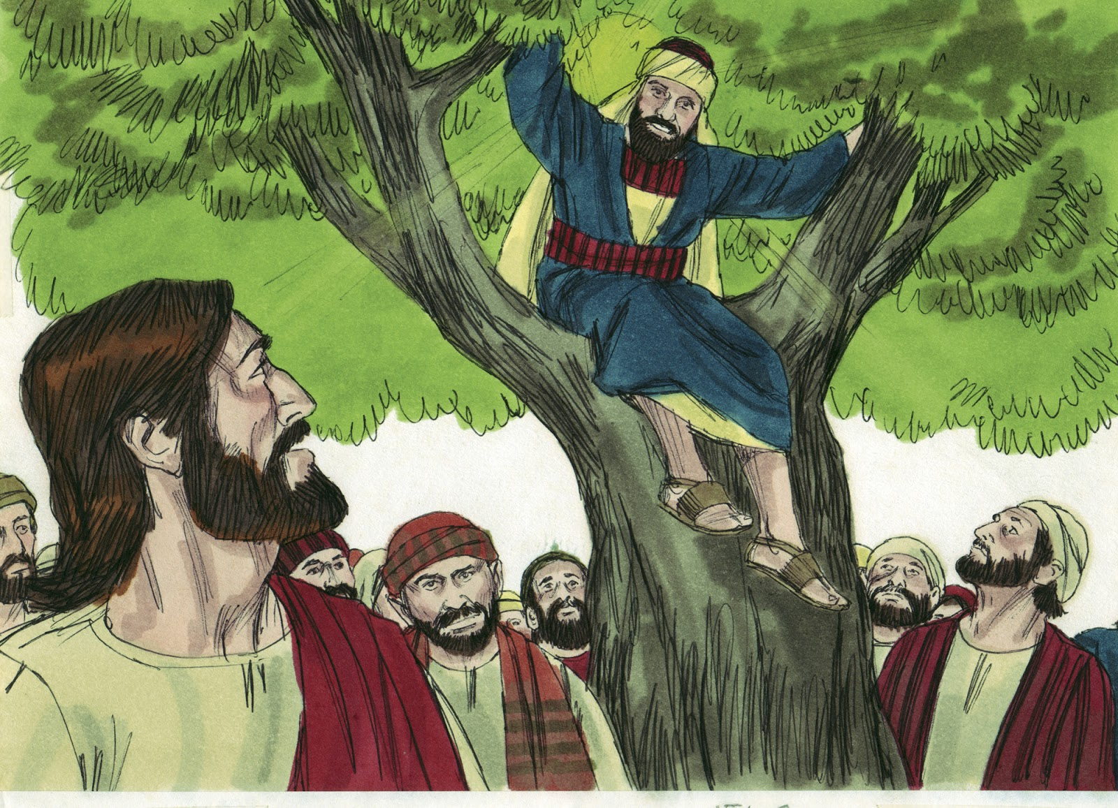 Bible Fun For Kids: Zacchaeus