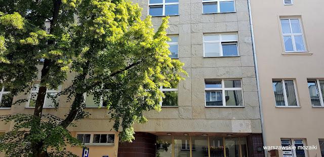 Warszawa Warsaw ulice street kamienica kamienice architektura Stary Mokotów zabudowa architecture przedwojenne Społem