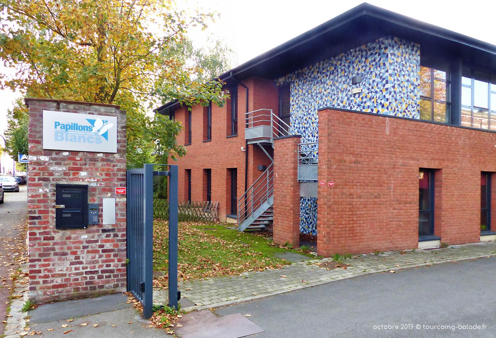 Papillons Blancs, Centre Habitat Langevin, Tourcoing.