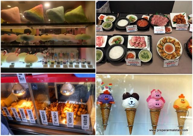 platos y comidas curiosos japon