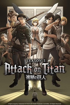 Attack on Titan 3ª Temporada Part.2 (2018) WEBRip 1080p | 720p Torrent Legendado Download