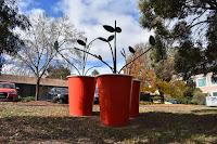 'Tripla Forza' by Denese Oates in Deakin   Public Art in Canberra