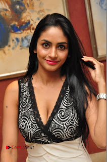 Actress Pooja Sree Pictures in Short Dress at talabbayi Audio Launch  0041.JPG