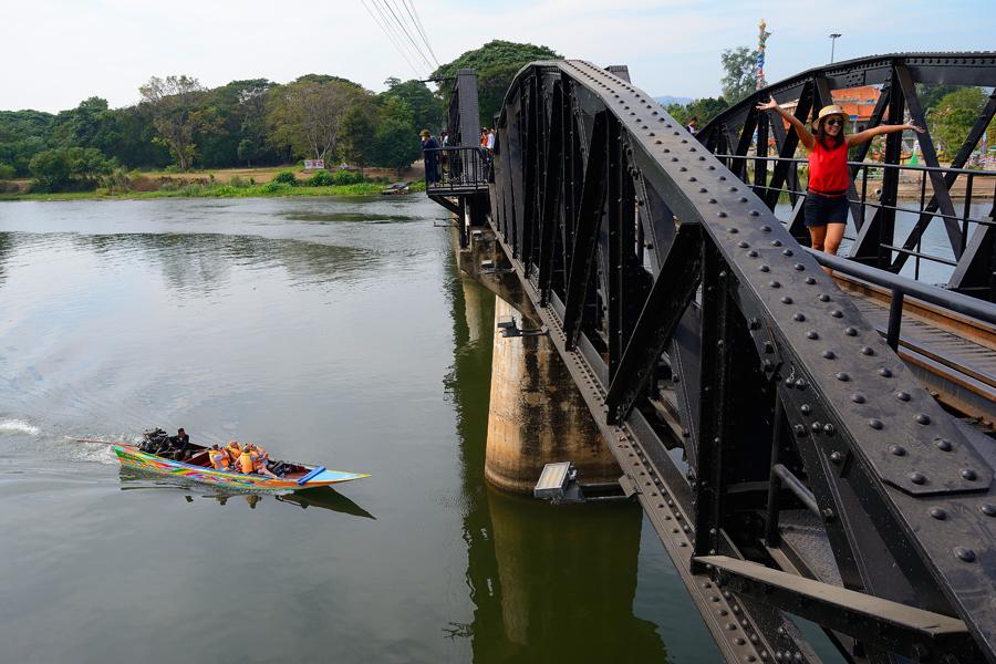 Słynny most na rzece Kwai