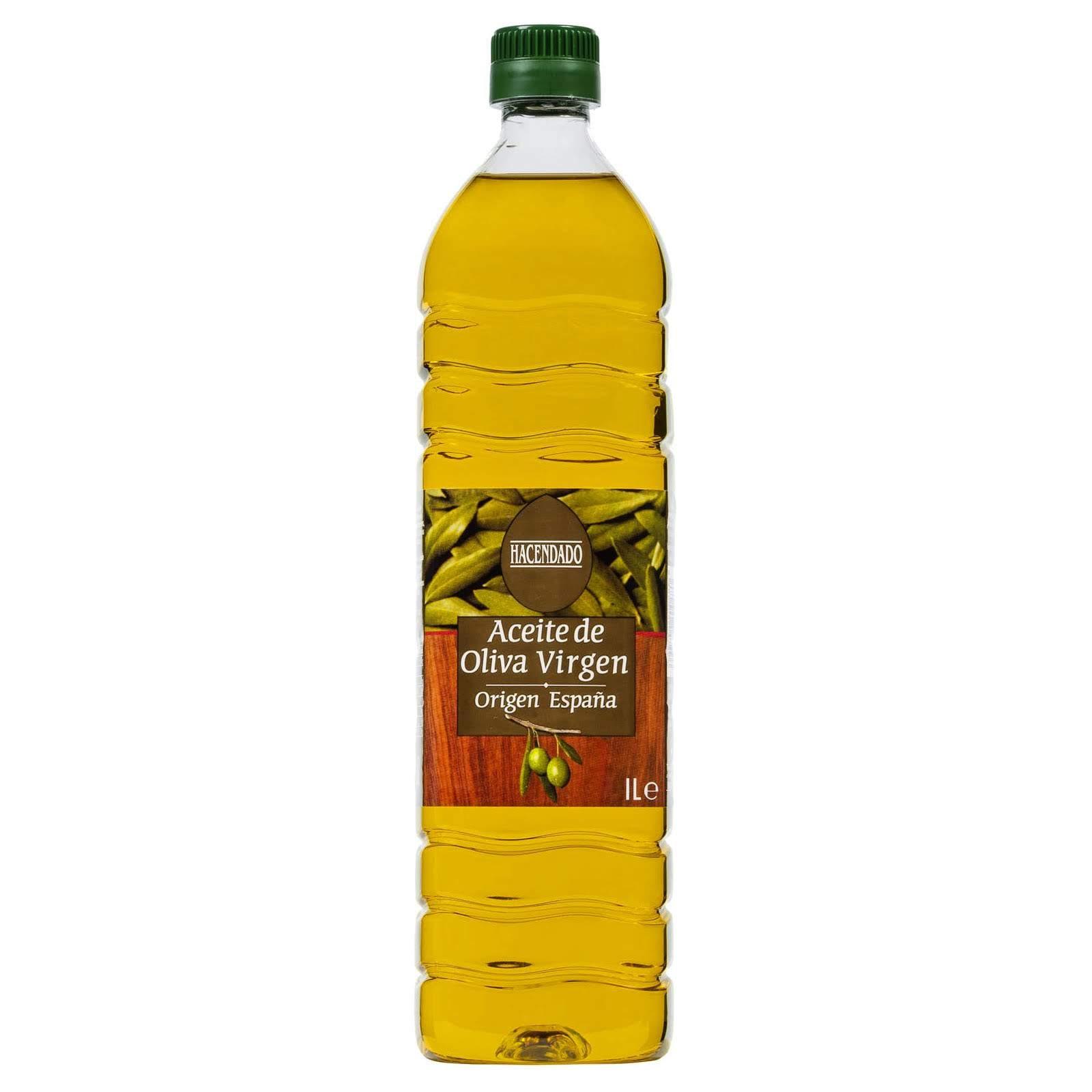 Aceite de oliva virgen Hacendado
