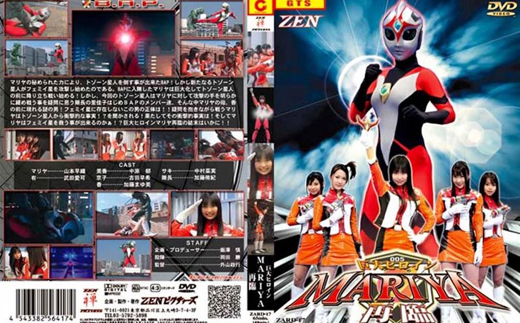 ZARD-17 Pahlawan Wanita Raksasa Mariya-Creation-