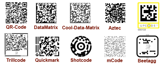 QR Code in detail