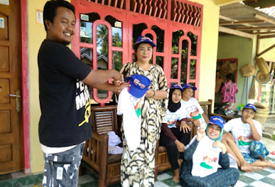 Relawan Garuda Tubabar Tak Kenal Lelah Sosialisasikan Visi Misi Ridho-Bachtiar