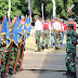 Kasdim 0703/Cilacap Pimpin Gladi Upacara Peringatan HUT RI ke 74 Tingkat Kabupaten Cilacap