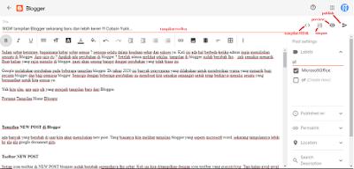 WOW tampilan Blogger sekarang baru dan lebih keren !!! Cobain Yukk...