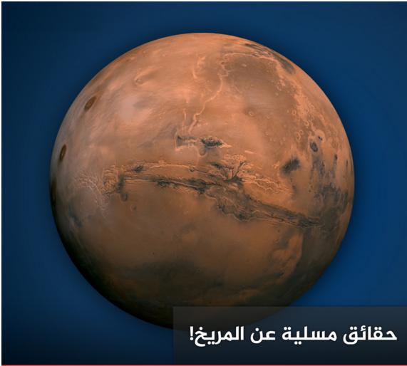 حقائق مسلية عن كوكب المريخ إطلع عليها