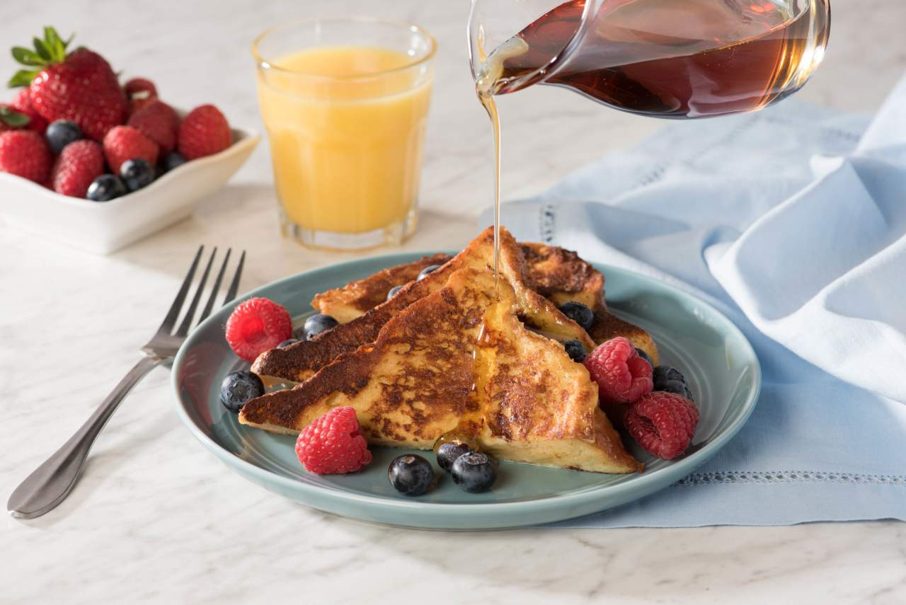 Nutella French Toast for breakfast