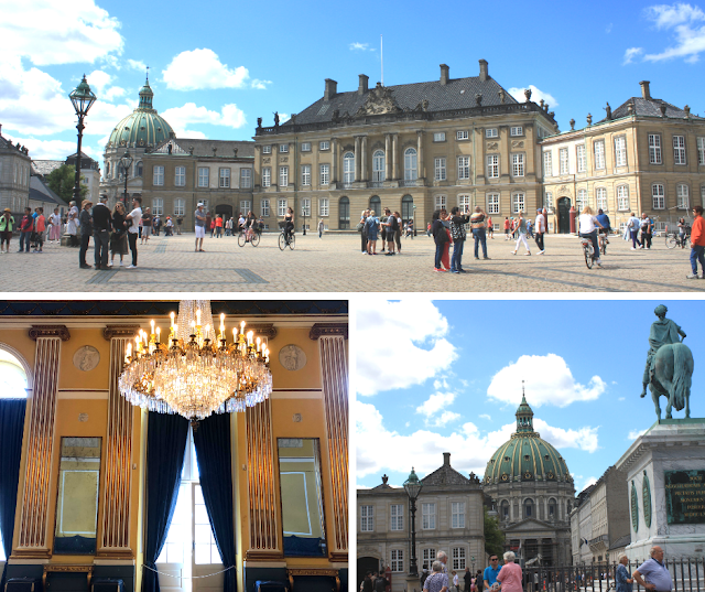 Amalienborg Home of the Danish Royal Family