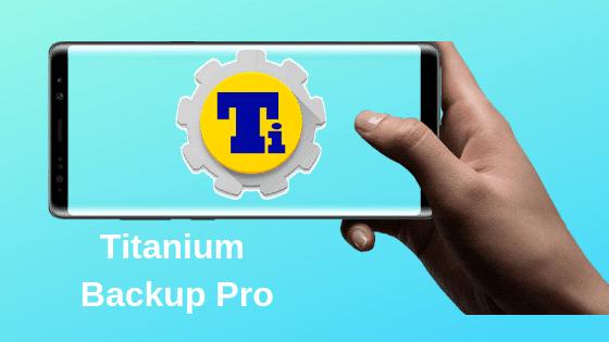 Comment utiliser Titanium Backup Pro sur Android